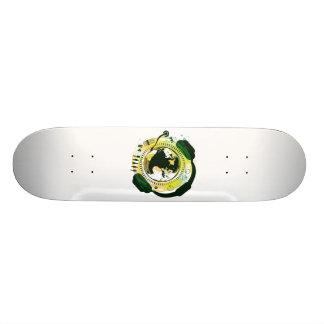 Earth_Music 20.6 Cm Skateboard Deck