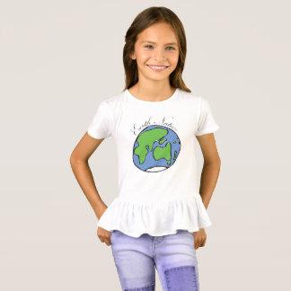Earth Native Girls Ruffle T-Shirt