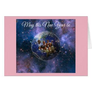 Earth New Year Card