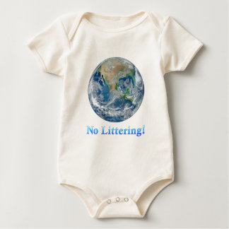 Earth No Littering - Multiple Products Baby Bodysuit