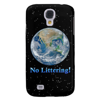 Earth No Littering - Multiple Products Galaxy S4 Cases