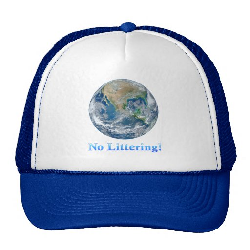 Earth No Littering - Multiple Products Hat