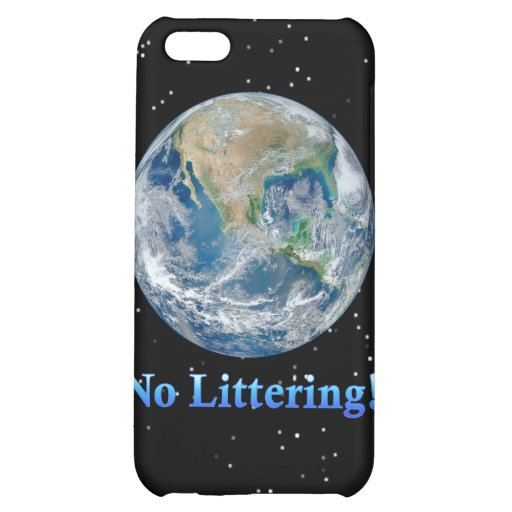 Earth No Littering - Multiple Products iPhone 5C Cases