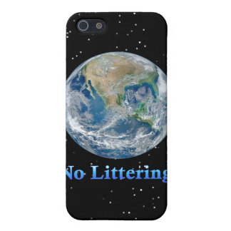 Earth No Littering - Multiple Products Cases For iPhone 5