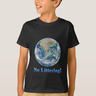 Earth No Littering - Multiple Products Shirt