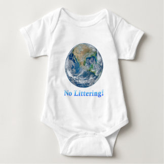 Earth No Littering - Multiple Products Tee Shirts