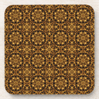 Earth Octagons PAttern Coasters