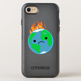 Earth On Fire OtterBox Symmetry iPhone 8/7 Case