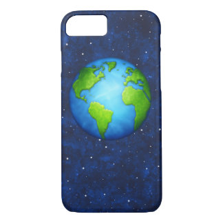 Earth on space phone case