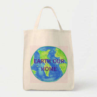 EARTH OUR HOME MARKET TOTE