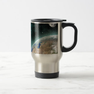 Earth Outer Space Stainless Steel Travel Mug