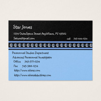 Earth OutSpace Planets Business Cards