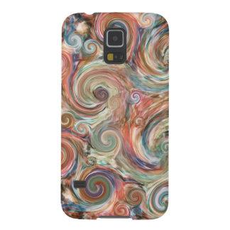 Earth Pastel Swirls Phone Case Galaxy S5 Case