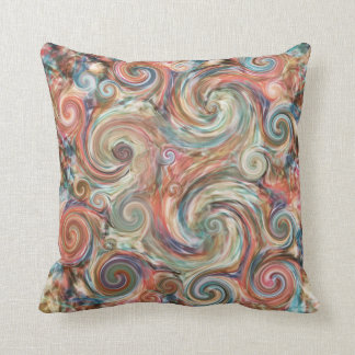 Earth Pastels Colorful Decor Pillow