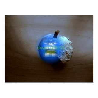 Earth Pear Postcard