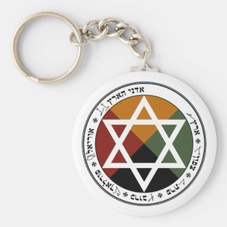 'Earth Pentacle' Key Ring
