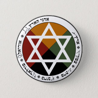 Earth Pentacle of the Golden Dawn Pin