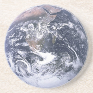 Earth Photo Drink Sandstone Coaster