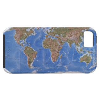 Earth Physical Map iPhone 5 Covers