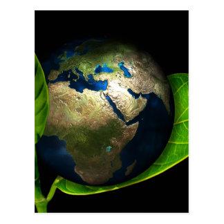 Earth Postcard