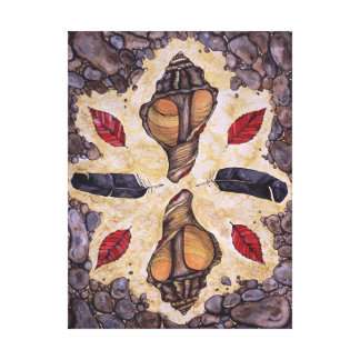 Earth Prayer Canvas Print