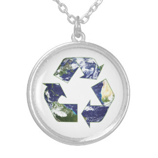 Earth - Recycling Necklace