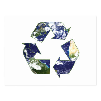 Earth - Recycling Post Cards