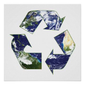 Earth - Recycling Print