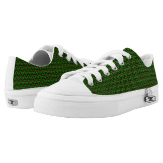 Earth Rhombus™ M/W Low Top Shoes Printed Shoes