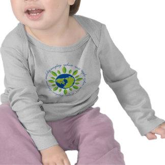 Earth s Flower Earthday Everyday Tee Shirt