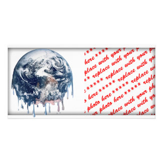 Earth s Meltdown Picture Card
