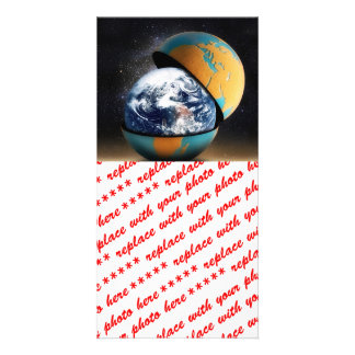 Earth s Protective Cover Personalized Photo Card