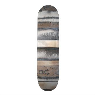 Earth & Smoke I Custom Skateboard