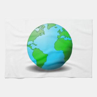 Earth Tea Towel