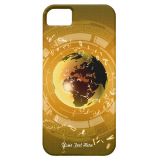 Earth Tech Gold - Case-Mate iPhone 5/5S Case