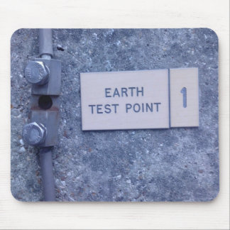 Earth Test Point 1 Mousepad