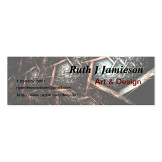 EARTH TEXTURE Design Business Card Template