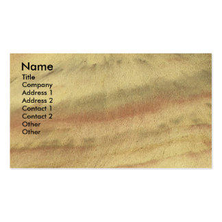 Earth Textures Nature Business Card