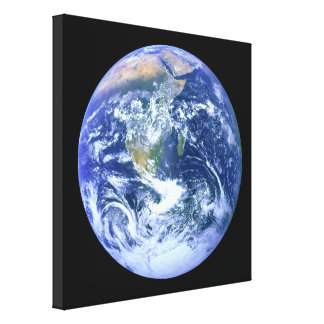 Earth - The Blue Marble Canvas Print