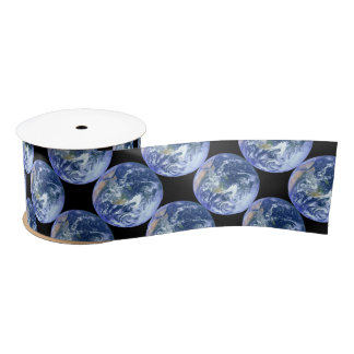 Earth - The Blue Marble Satin Ribbon