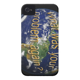 Earth Thought Blackberry Case