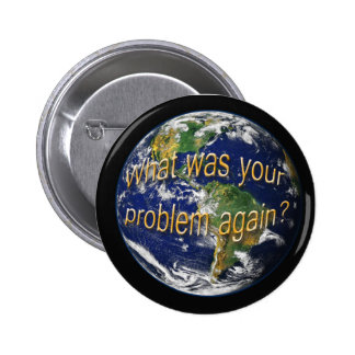Earth Thought Button