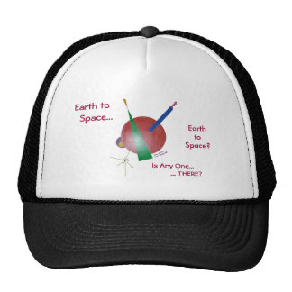 """Earth To Space"" Cap"