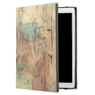 "Earth Tone Painting with Cracked Surface iPad Pro 12.9"" Case"