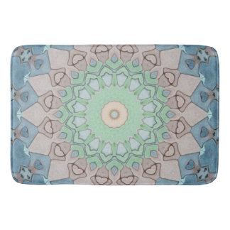 Earth Tone Pastels Mandala Bath Mat