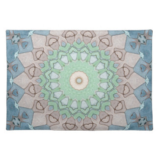 Earth Tone Pastels Mandala Placemat