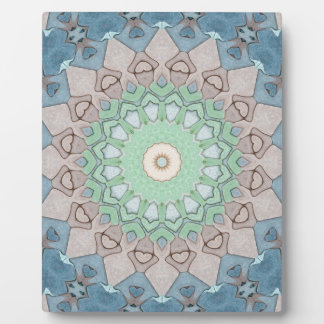 Earth Tone Pastels Mandala Plaque