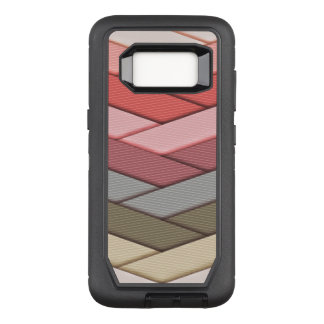 Earth Tone Ribbon Pattern OtterBox Defender Samsung Galaxy S8 Case