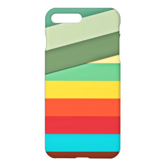 Earth Tone Stripes iPhone 8 Plus/7 Plus Case