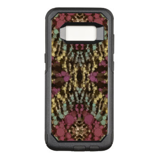 Earth Tone Zebra Abstract OtterBox Commuter Samsung Galaxy S8 Case